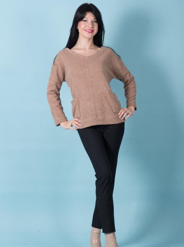 Туника женская Сильвия с карманамиПодарки на День рождения<br><br><br>Размер: 48