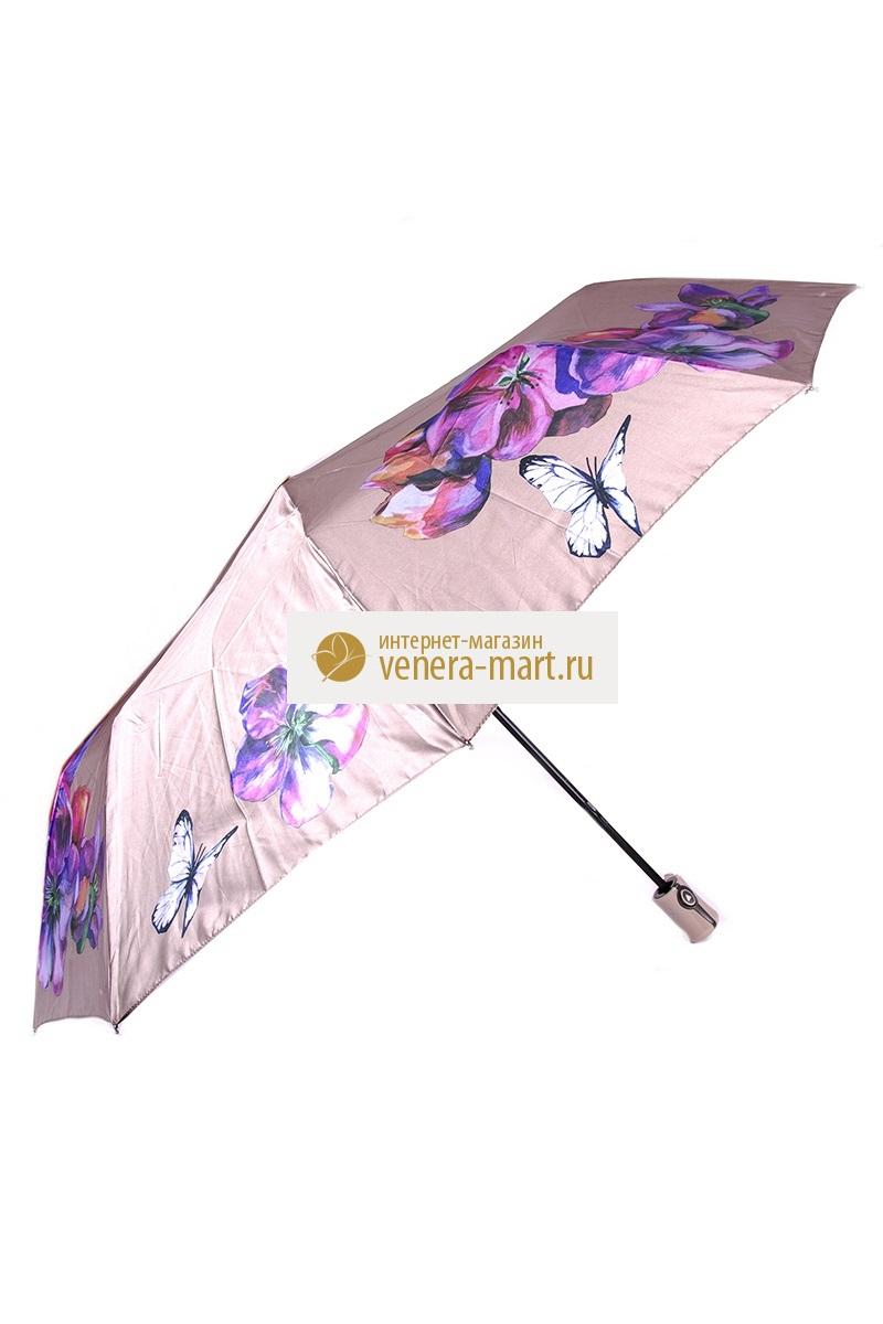 Зонт женский Аямэ полуавтоматическийПодарки на День рождения<br><br><br>Размер: Сиреневый