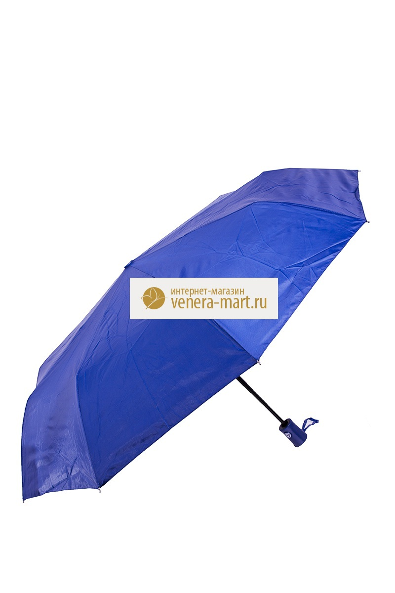 Зонт женский Джун автоматическийПодарки на День рождения<br><br><br>Размер: Синий
