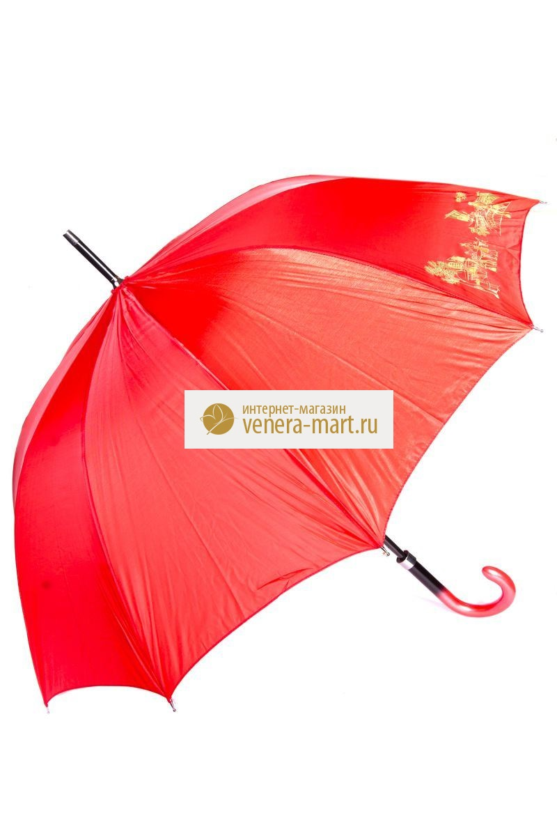 Зонт-трость женский Леди полуавтоматическийПодарки на День рождения<br><br>