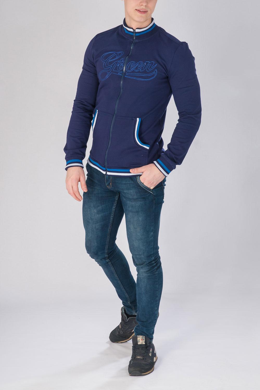 Анорак мужской Александр на молнииКоллекция ВЕСНА-ЛЕТО<br><br><br>Размер: 46