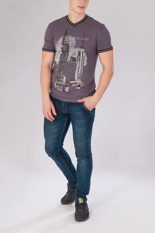 Джемпер мужской Мегаполис с коротким рукавомКоллекция ВЕСНА-ЛЕТО<br><br><br>Размер: 50