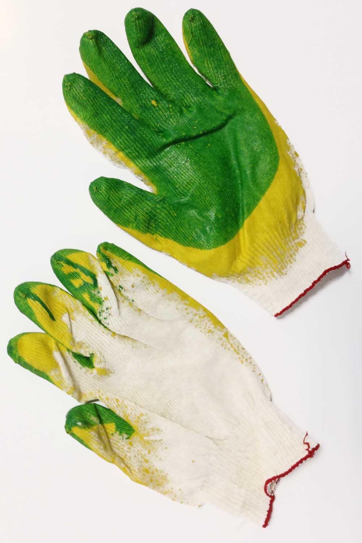Перчатки 2-х латексный облив (1 пара)Перчатки хозяйственные<br><br>