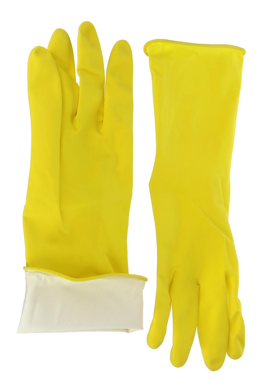 Перчатки хозяйственные из прочного латекса (1 пара)Перчатки хозяйственные<br><br><br>Размер: L