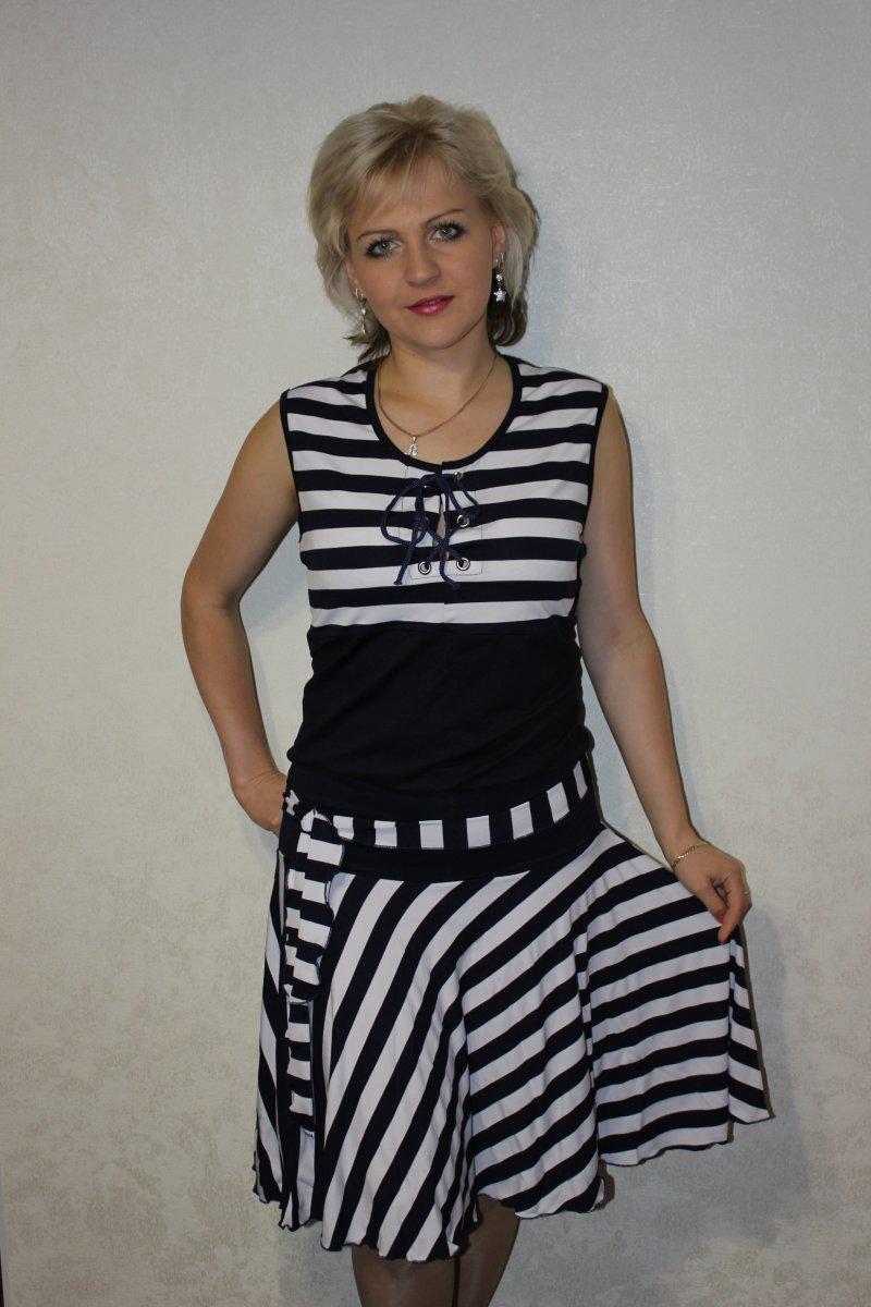Блуза женская Тамань со шнуровкойКоллекция ВЕСНА-ЛЕТО<br><br><br>Размер: 48