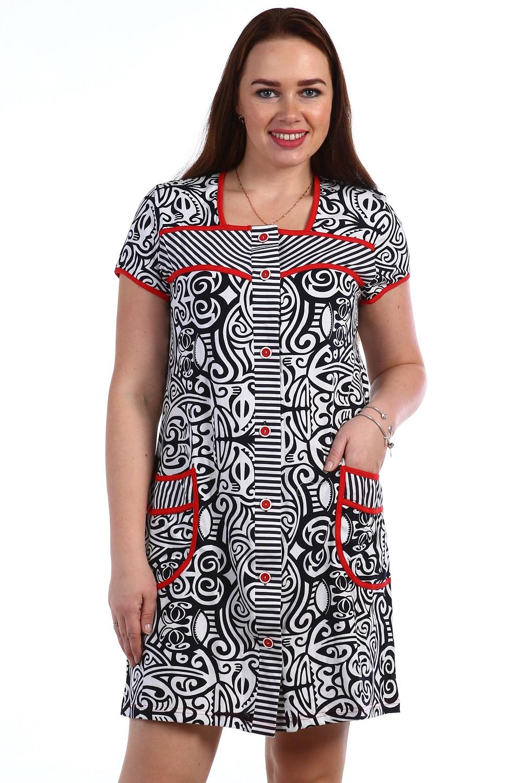 Халат женский Инди на пуговицахДомашняя одежда<br><br><br>Размер: Голубой