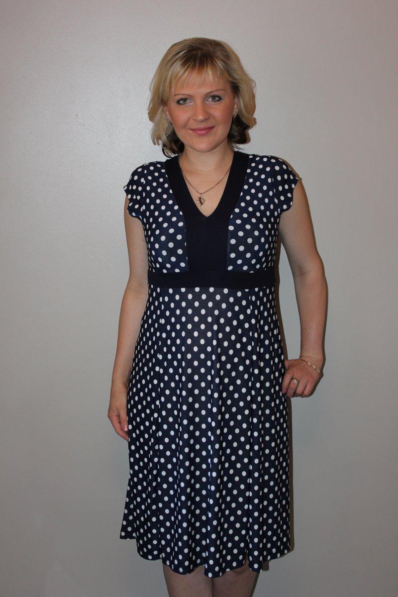 Платье женское Арлетта с коротким рукавомКоллекция ВЕСНА-ЛЕТО<br><br><br>Размер: 56