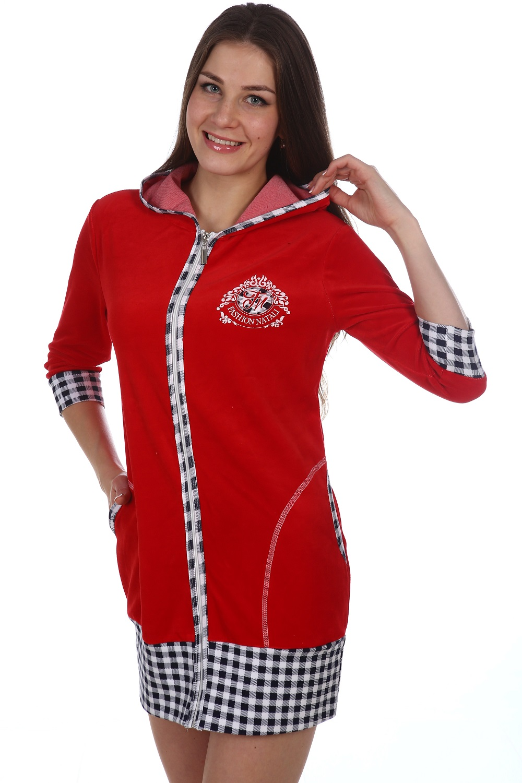 Туника женская Fashion Nataly с капюшономКоллекция ВЕСНА-ЛЕТО<br><br><br>Размер: 44