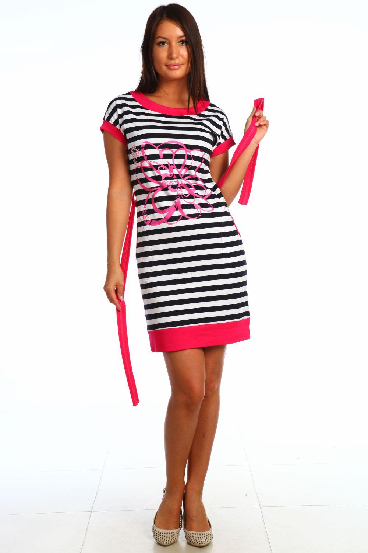 Туника женская Ялта с поясомКоллекция ВЕСНА-ЛЕТО<br><br><br>Размер: Красный