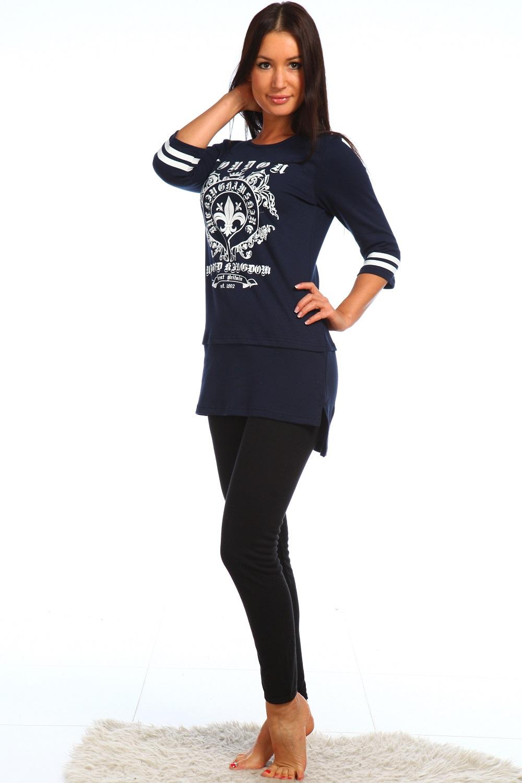 Туника женская Лондон с рукавом 3/4Коллекция ВЕСНА-ЛЕТО<br><br><br>Размер: 52