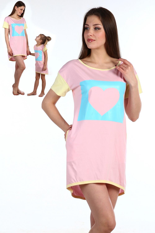 Туника женская Макарони с карманамиКоллекция ВЕСНА-ЛЕТО<br><br><br>Размер: 42