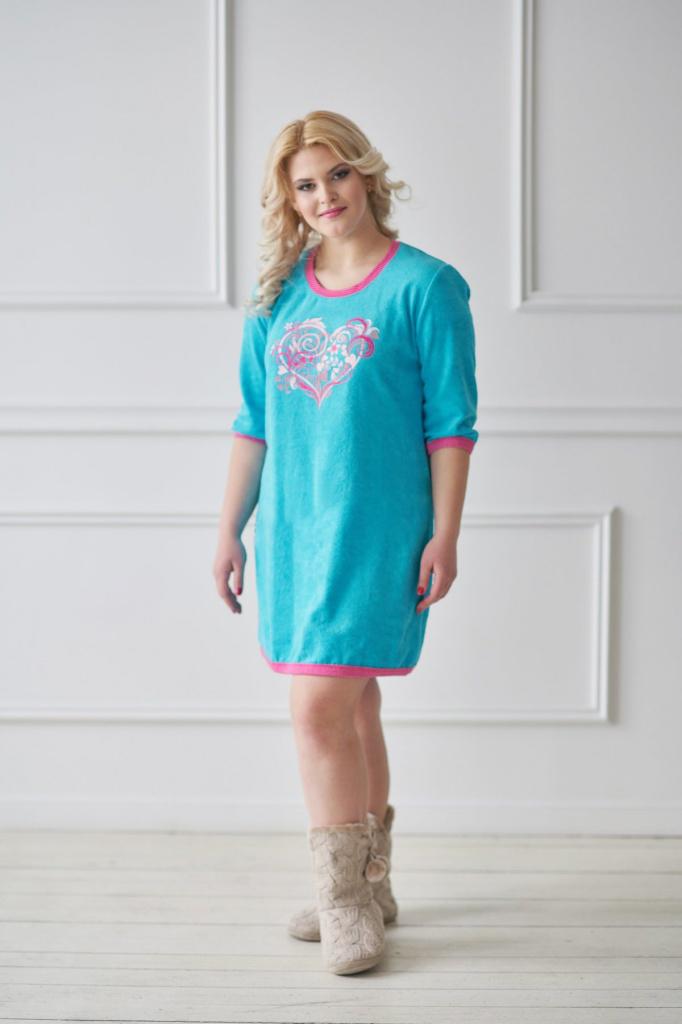 Туника женская Орланда с круглым вырезомКоллекция ВЕСНА-ЛЕТО<br><br><br>Размер: 56