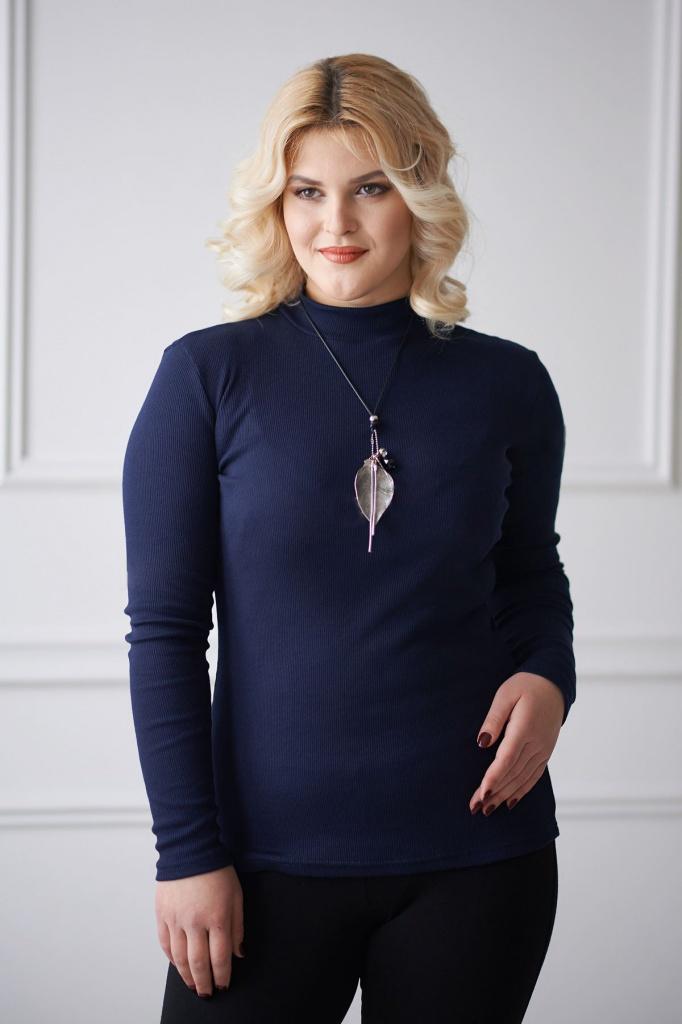 Водолазка женская Моника с длинным рукавомКоллекция ВЕСНА-ЛЕТО<br><br><br>Размер: 46