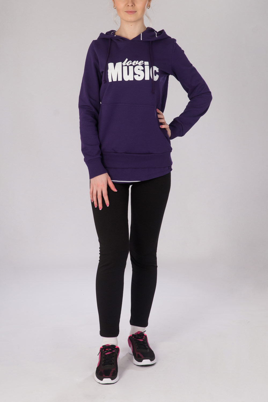 Анорак женский Music Girl с капюшономКоллекция ВЕСНА-ЛЕТО<br><br><br>Размер: 44