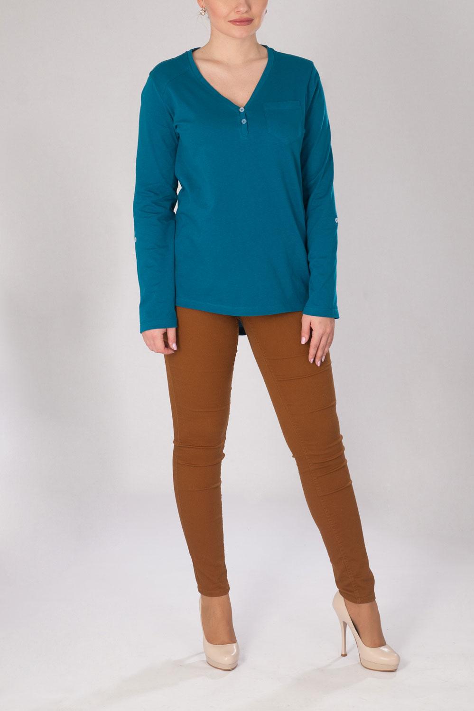 Блуза женская Амрита с длинным рукавомКоллекция ВЕСНА-ЛЕТО<br><br><br>Размер: 46