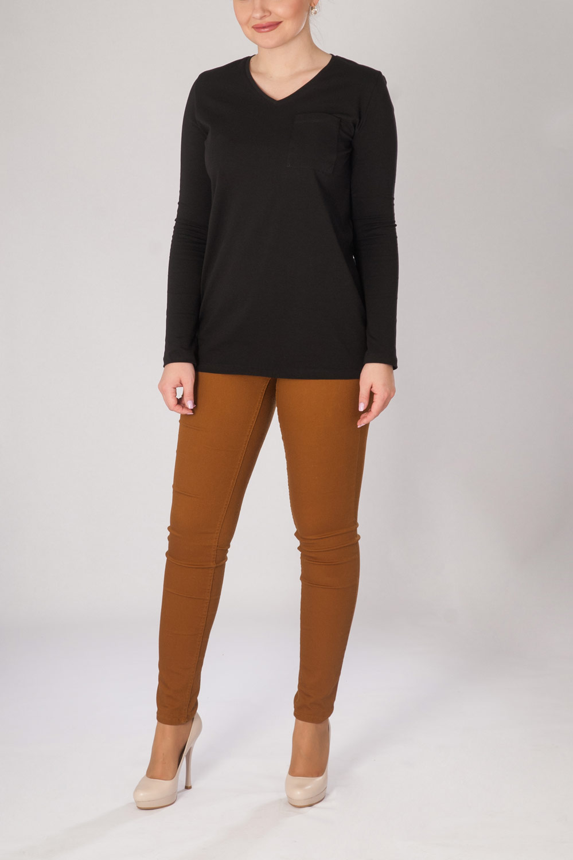 Блуза женская Агата с длинным рукавомКоллекция ВЕСНА-ЛЕТО<br><br><br>Размер: 44