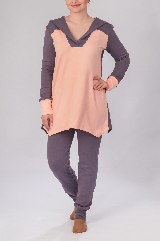 Пижама женская Рита туника и брюкиКоллекция ВЕСНА-ЛЕТО<br><br><br>Размер: 42