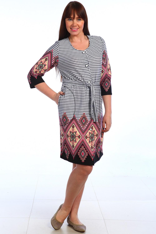 Халат женский Глаша с поясомДомашняя одежда<br><br><br>Размер: Бирюзовый