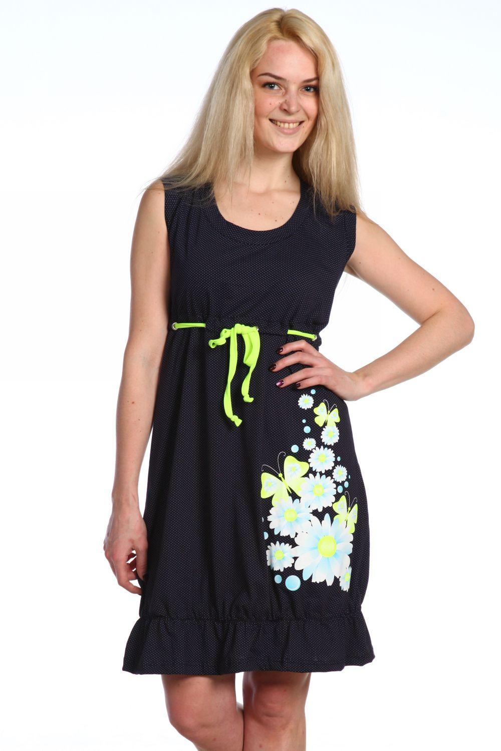 Платье женское Крестьянка на кулискеПлатья и сарафаны<br><br><br>Размер: 52