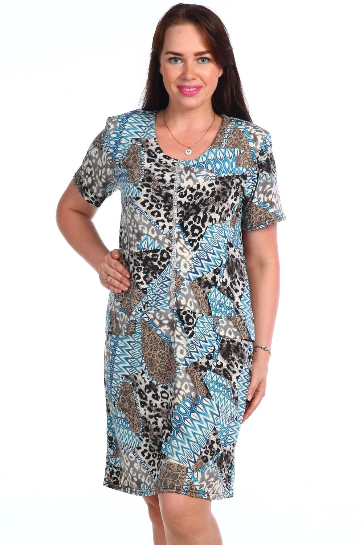 Платье женское Белуччи с коротким рукавомПлатья и сарафаны<br><br><br>Размер: 52