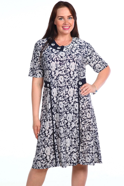 Платье женское Креолла с рукавом до локтяКоллекция ВЕСНА-ЛЕТО<br><br><br>Размер: 60