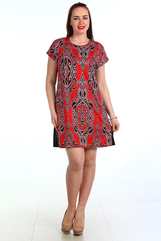 Платье женское Манго с орнаментомПлатья и сарафаны<br><br><br>Размер: 62