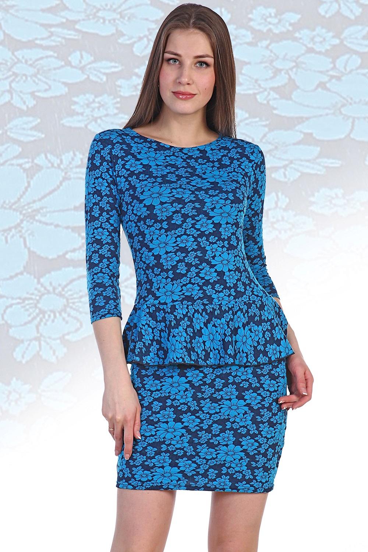 Платье женское Айва с длинным рукавомПлатья и сарафаны<br><br><br>Размер: 42