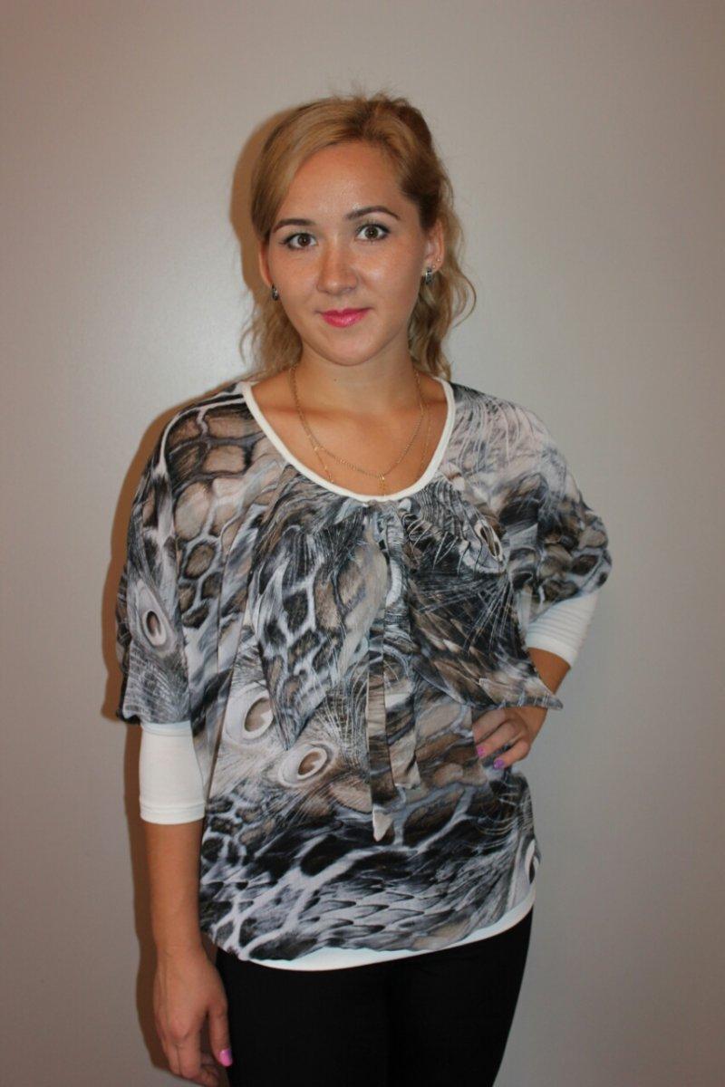 Блуза женская СаважБлузы<br><br><br>Размер: 48