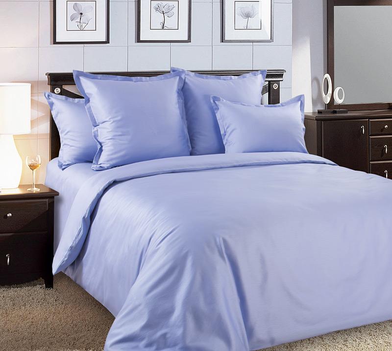 Комплект постельного белья Крокус из сатинаСатин<br><br><br>Размер: Евростандарт (2 нав. 70х70)