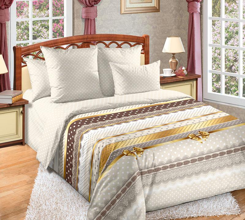 Комплект постельного белья Ненси 1 из сатинаСатин<br><br><br>Размер: Евростандарт (2 нав. 70х70)