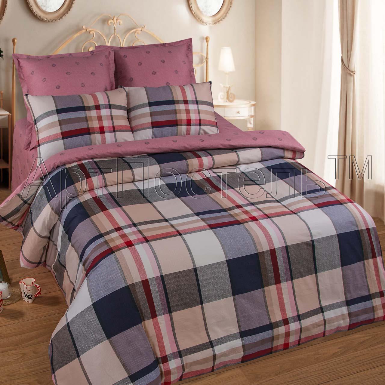 Комплект постельного белья Шри-Ланка из сатинаСатин<br><br><br>Размер: Евростандарт (4 нав):70x70 (2 шт) и 50х70 (2 шт)