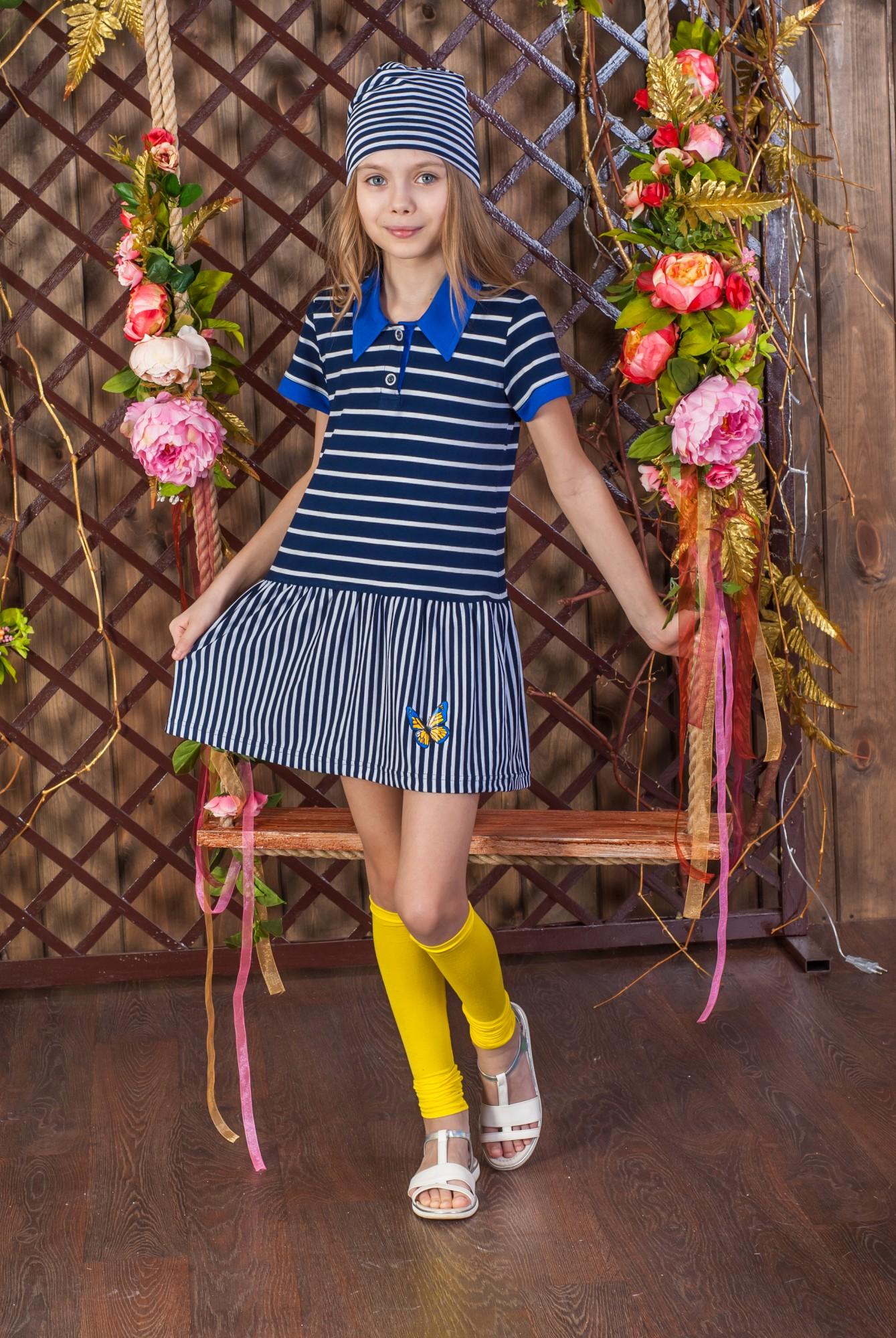 Платье для девочки Марина из вискозыПлатья и сарафаны<br><br><br>Размер: 76-146