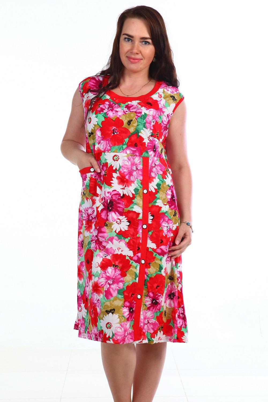 Платье женское Циния без рукаваКоллекция ВЕСНА-ЛЕТО<br><br><br>Размер: 52