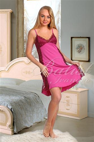 Сорочка женская АнжеликаСорочки<br><br><br>Размер: Фуксия