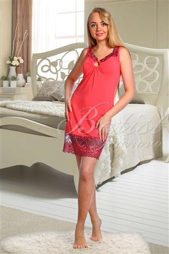 Сорочка женская ПринцессаСорочки<br><br><br>Размер: Красный