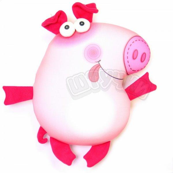 Антистрессовая игрушка-подушка свиньяПучеглазыПодарки на День рождения<br><br><br>Размер: 35х29