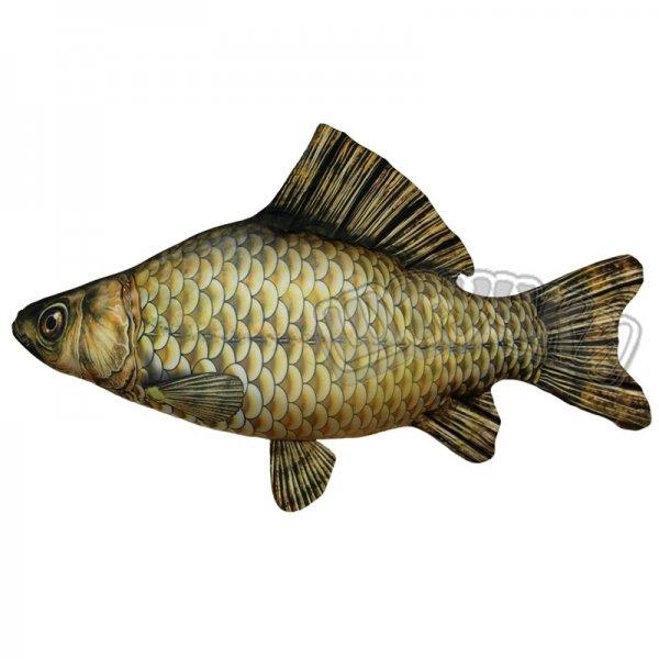 Антистрессовая игрушка Рыба Карась большаяДетские подушки-антистресс<br><br><br>Размер: 60*30