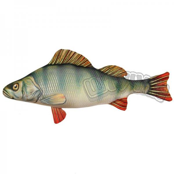 Антистрессовая игрушка Рыба Окунь маленькаяПодарки на День рождения<br><br><br>Размер: 46*23