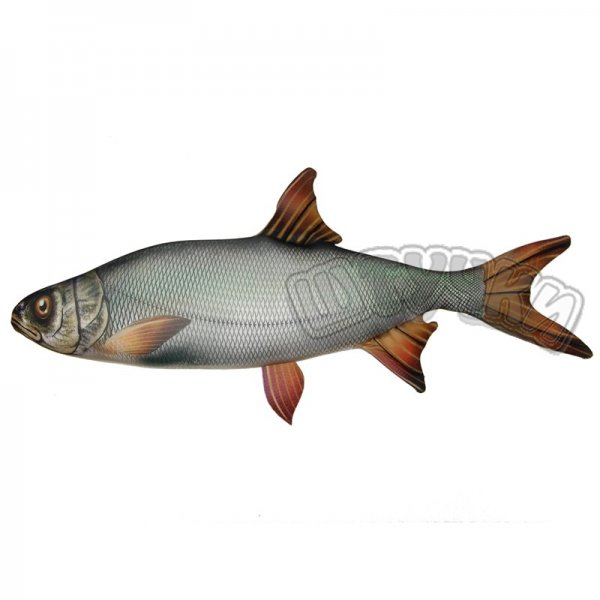 Антистрессовая игрушка Рыба Жерех гигант.Подарки на День рождения<br><br><br>Размер: 112*63
