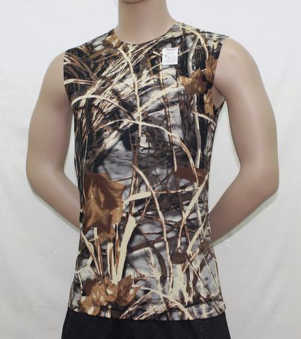 Безрукавка мужская камуфлированная 12 Лес-КамышОдежда для охоты и рыбалки<br><br><br>Размер: 48