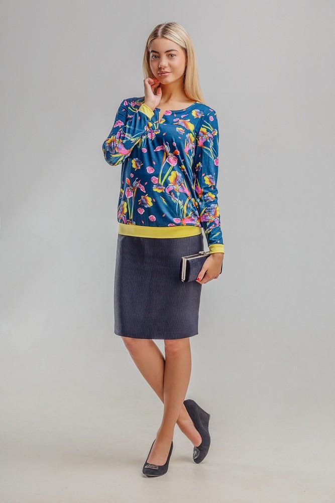 Блуза женская ГрадиентБлузы<br><br><br>Размер: 56