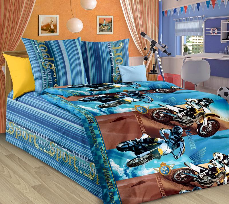 Комплект постельного белья ДрайвДетское постельное белье<br><br><br>Размер: 1.5сп (2 нав.70х70)