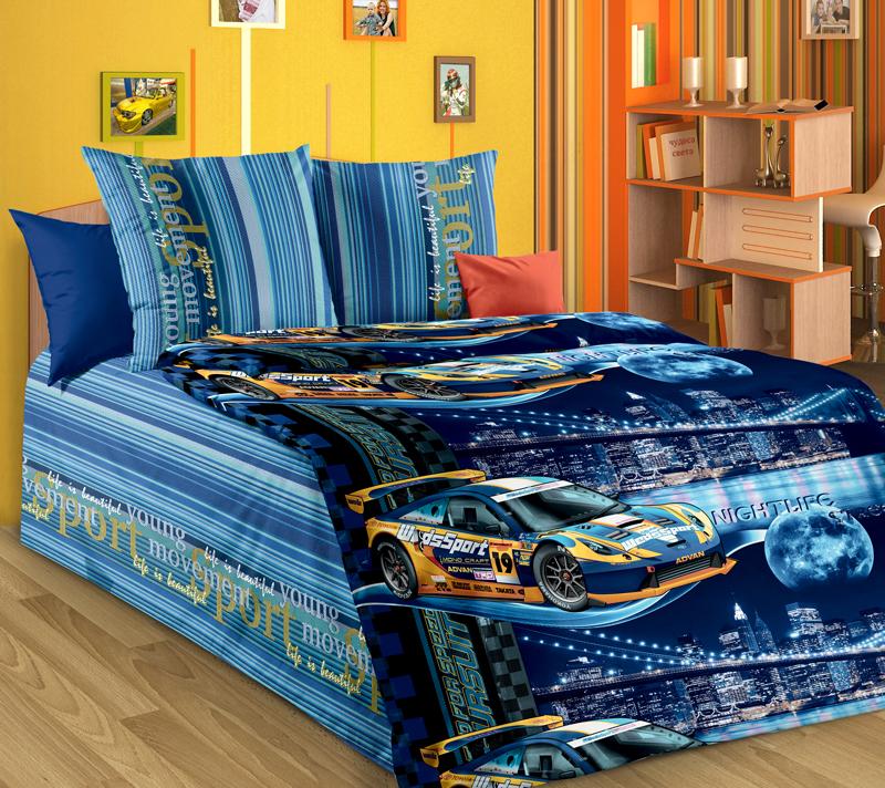 Комплект постельного белья Неон 1Детское постельное белье<br><br><br>Размер: 1.5сп (2 нав.70х70)