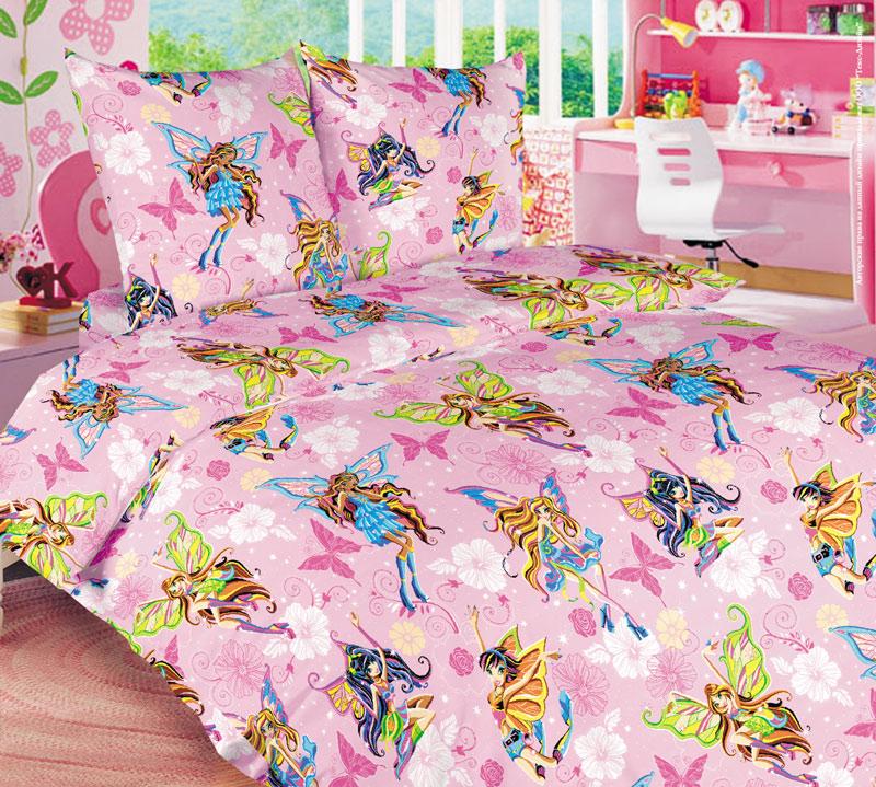 Комплект постельного белья ВолшебницыБязь<br><br><br>Размер: 1,5 спальный