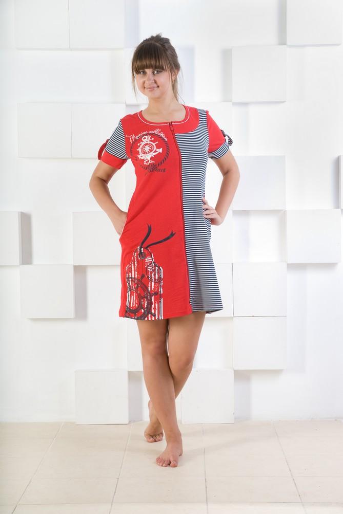 Халат женский АтлантикаХалаты<br><br><br>Размер: Красный