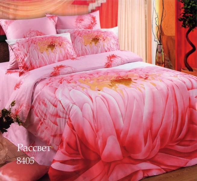 Комплект постельного белья Рассвет 2Подарки к 8 марта<br><br><br>Размер: 1,5 спальный