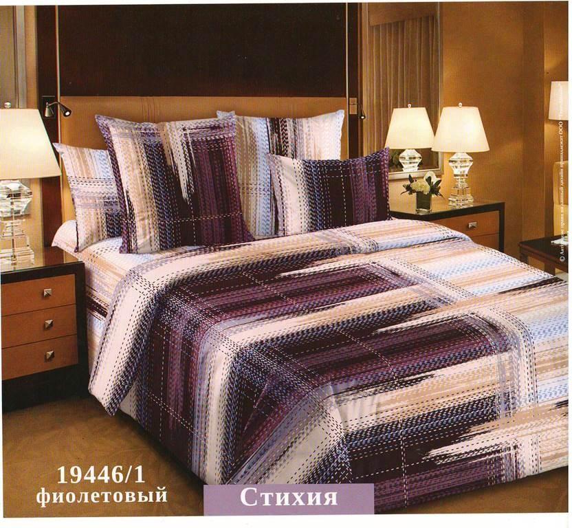 Комплект постельного белья СтихияПеркаль<br><br><br>Размер: Евромакси (2 нав.70х70)