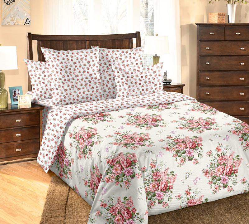 Комплект постельного белья АмелиПеркаль<br><br><br>Размер: Евростандарт (2 нав. 70х70)
