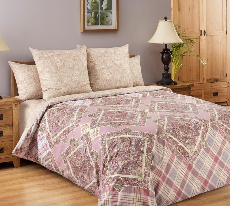 Комплект постельного белья ИтальянкаПеркаль<br><br><br>Размер: Семейный (2 нав. 70х70)
