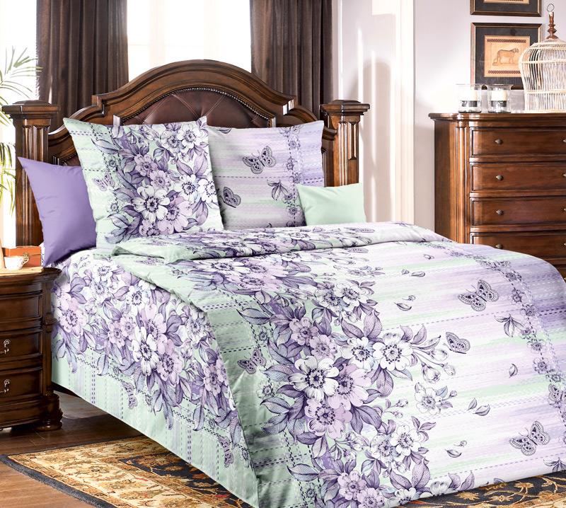 Комплект постельного белья МимолетностьБязь<br><br><br>Размер: 1.5сп (2 нав.70х70)